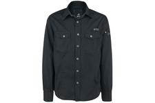 Koszula BRANDIT SlimFit Shirt Black