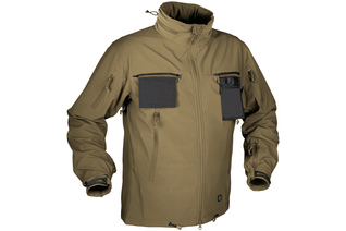kurtka Helikon Cougar SoftShell Windblocker coyote