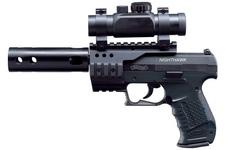 wiatrówka - pistolet WALTHER NIGHTHAWK czarny