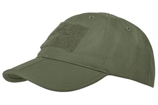 czapka Helikon Baseball FOLDING Cotton ripstop olive green