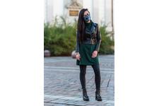 Maska antysmogowa DRAGON Casual Mint Green