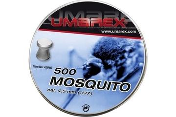 śrut 4,5 mm UMAREX MOSQUITO płaski moletowany 500szt.