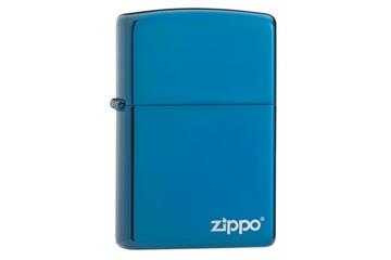 Zapalniczka ZIPPO Sapphire z logo Zippo
