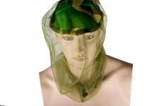 moskitiera na głowę BCB olive green