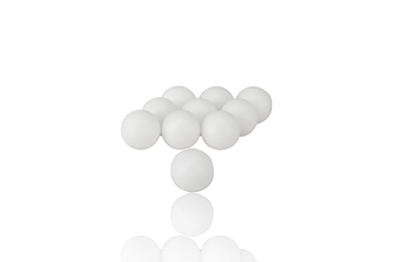 Kule do wybijania szyb PepperBall cal.68 - 10szt.