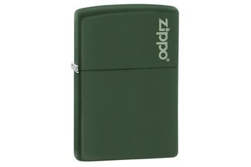 Zapalniczka ZIPPO Green Matte z małym logo Zippo