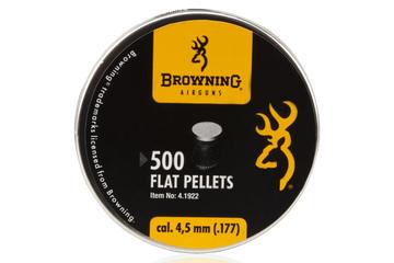 śrut 4,5 mm BROWNING płaski 500szt