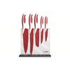 Zestaw noży kuchennych Boker ColorCut czerwone