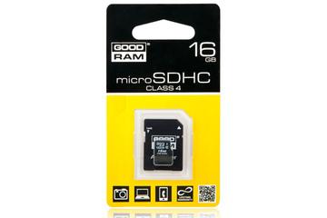 Karta pamięci Good RAM microSD 16GB + adapter SD