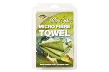 Ręcznik BCB Mikrofibra Ultralight 80x40 oliwkowy